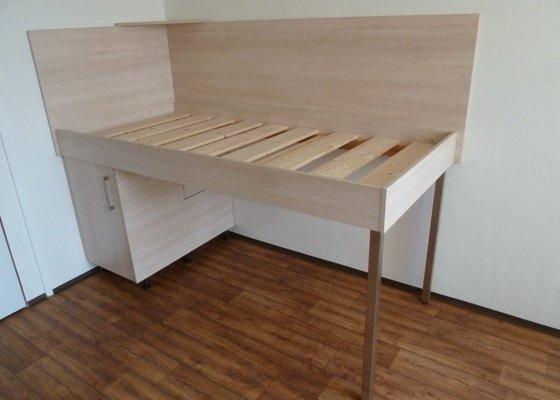 Návrh a výroba vestavné skříně do studentského pokoje