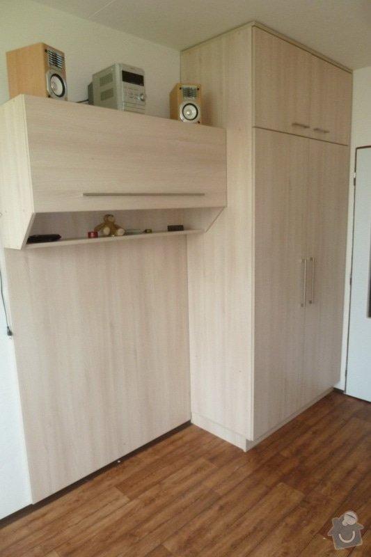 Návrh a výroba vestavné skříně do studentského pokoje: skr._ba.