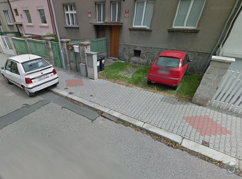 Úprava (sklopení) obrubníku pro vjezd na parkovací plochu: ScreenShot106