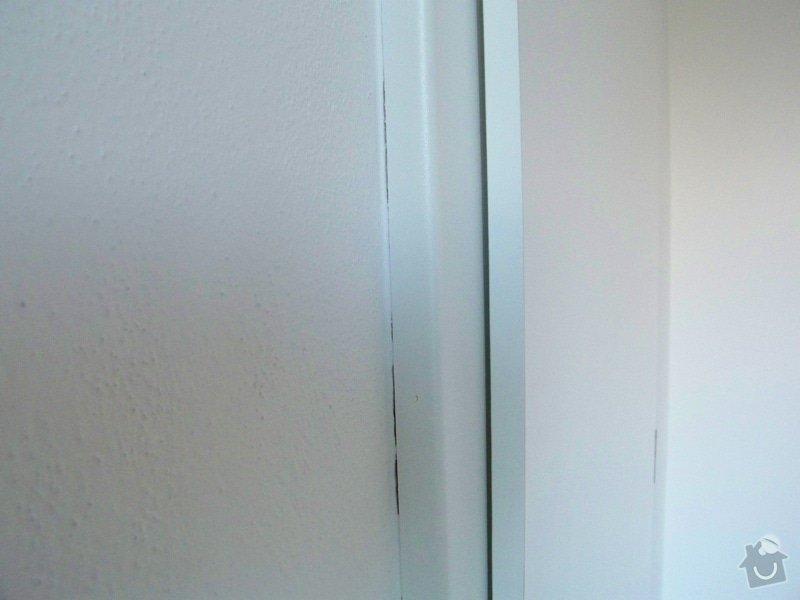 Dodání a montáž interiérových dveří: vada3