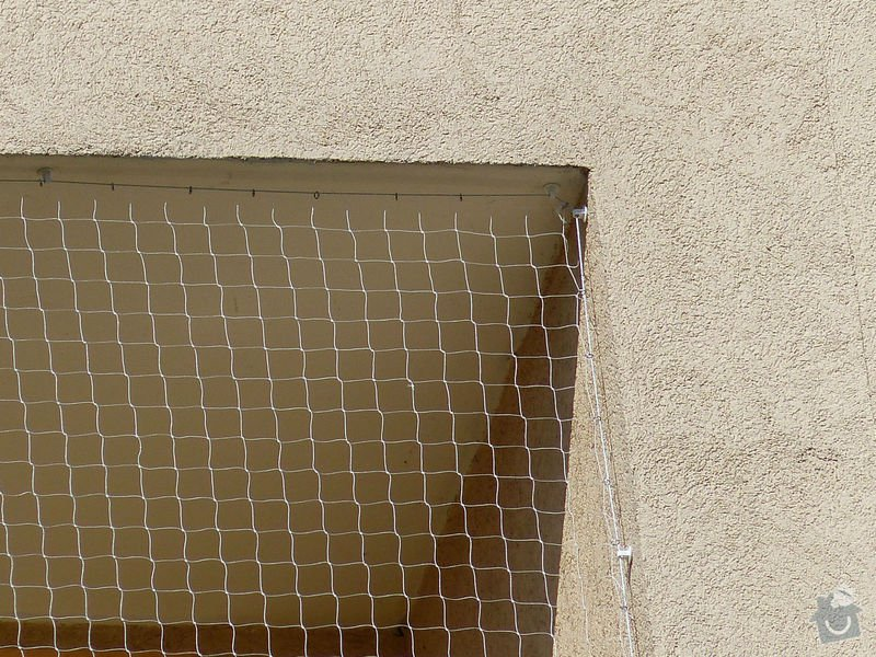 Sítě proti holubům do lodžií: P1070304