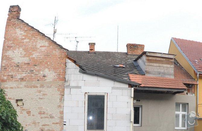 Rekonstrukce střechy + 2 vikýře: strecha