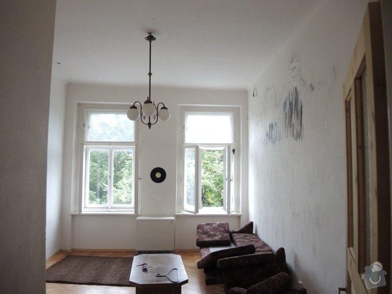 Malířské práce - 2 místnosti: DSCN9021