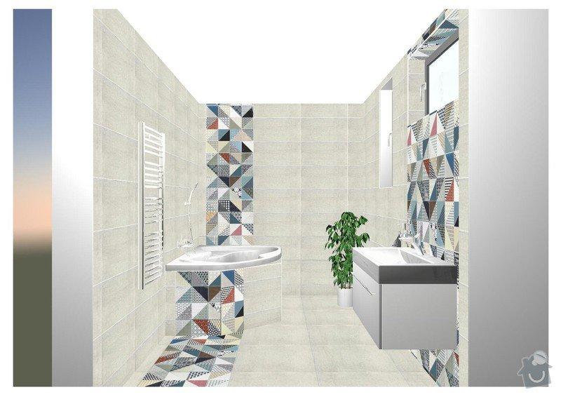 Realizace koupelen: koupelna_2np_front