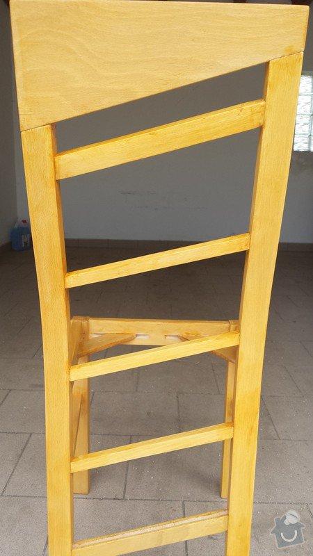 Nátěr kuchyňských židlí: zidle_1_