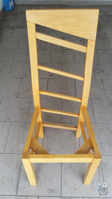 Nátěr kuchyňských židlí: zidle_3_
