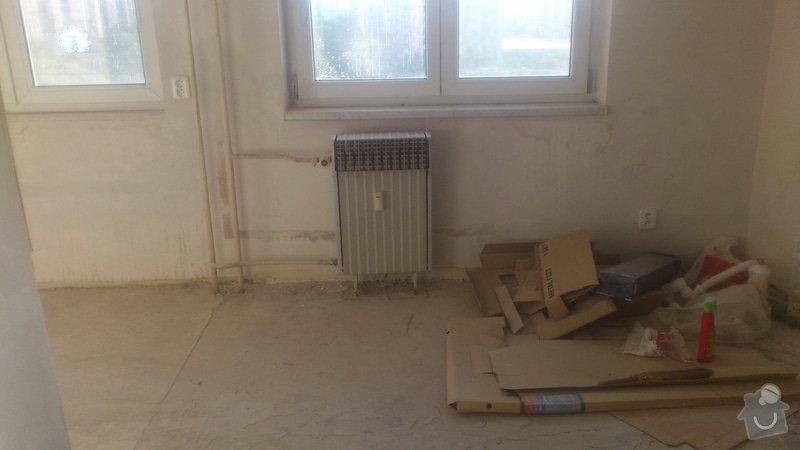Výměna 4 radiátorů, úprava umístění plyn. kohoutu v kuchyni: DSC_0859