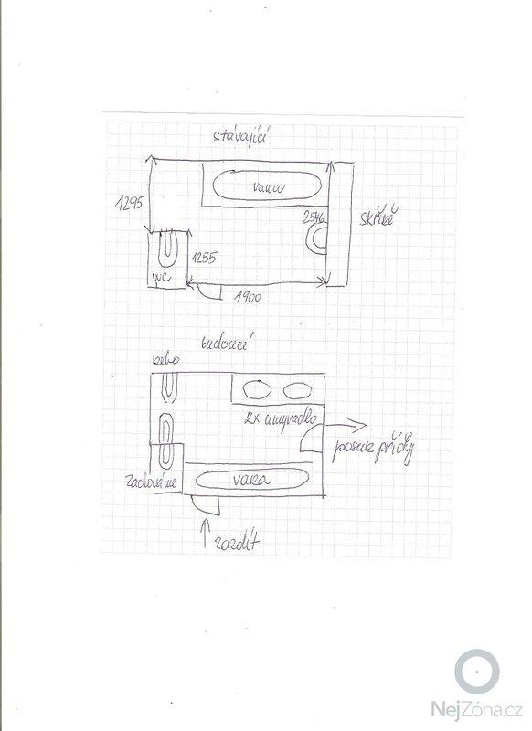 Kompletní rekonstrukce koupelny + zednické práce: 001