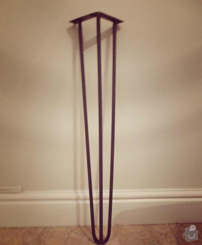Výroba 4 ks železných nohou stolu: __57_3_