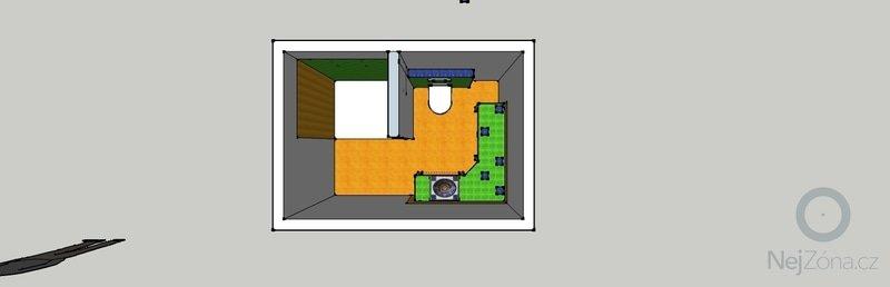 Obkladačské páce, koupelna2x, WC, KUCHYŇ: koupelna_horni