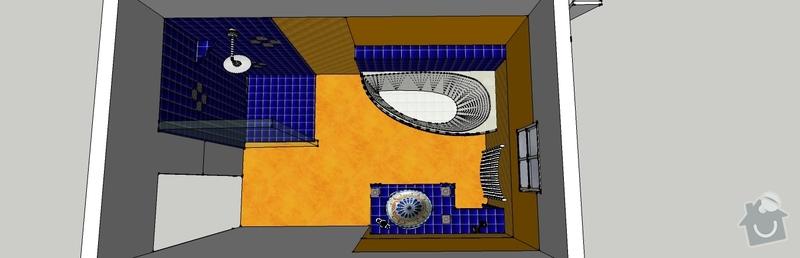 Obkladačské páce, koupelna2x, WC, KUCHYŇ: koupelna_spodni