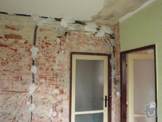 Nahození omítky, oprava stropu a zapravení drážek po elektrice: b_4_