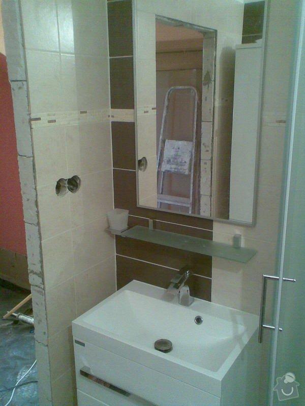Rekonstrukce bytu 1+1 (koupelna, elektroinstalace, podlaha): Obraz075