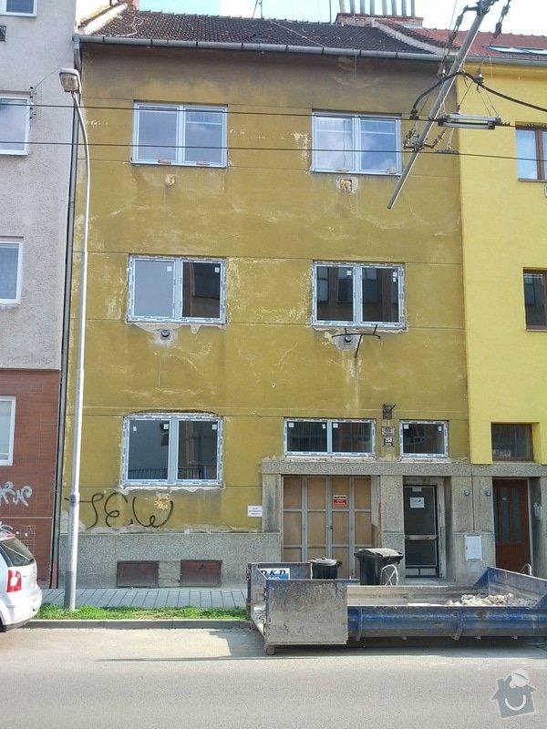 Rekonstrukci fasády (bez zateplení) bytového domu (cca 270m2) a rekonstrukce dvora 43m2: IMG_20140430_173355