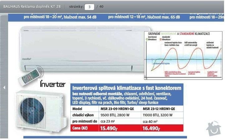 Instalace klimatizace na sedlovou strechu: klimatizace_bauhaus