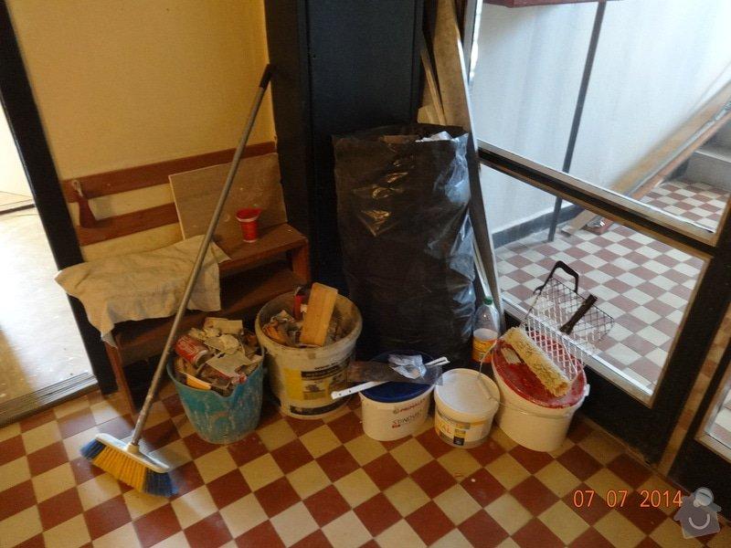Rekonstrukce bytového jádra: Odpad_-_spolecne_prostory