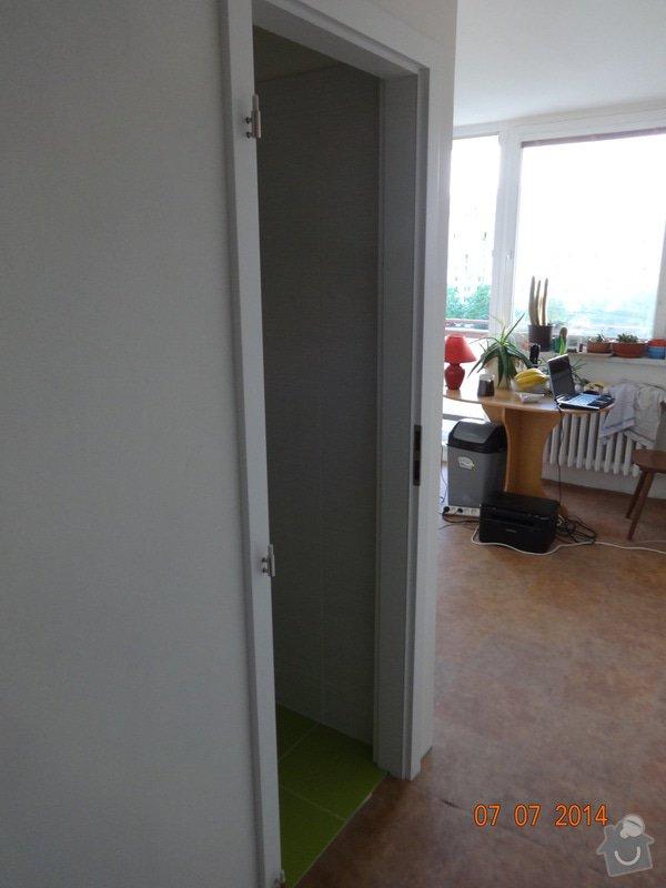 Rekonstrukce bytového jádra: Chybeji_dvere