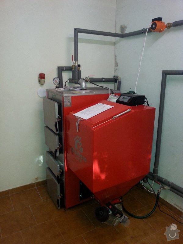 Prodej Automatický kotel Greeneco 25kW + montáž. : 20140716_184926