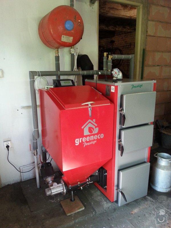 Prodej Automatický kotel Greeneco 20kW + montáž : 20140707_163852