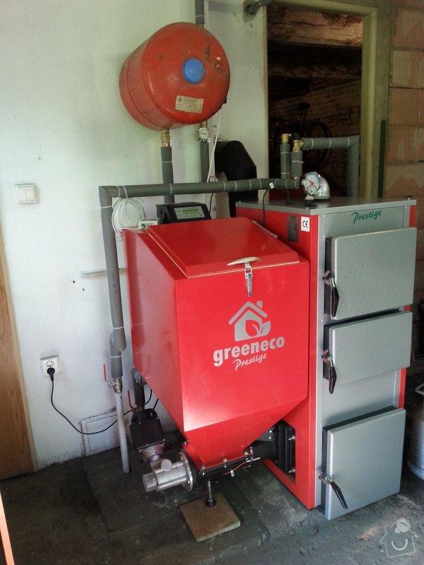 Prodej Automatický kotel Greeneco 20kW + montáž : 20140707_163854