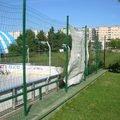 Oprava plotu na iceparku v plzni plot icepark