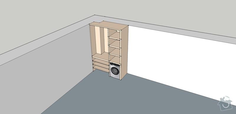 Výroba vestavěných skříni 2ks: predsin
