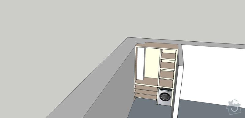 Výroba vestavěných skříni 2ks: predsin2