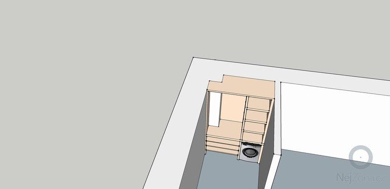 Výroba vestavěných skříni 2ks: predsin3