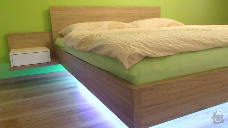 Manželská postel + noční stolky: postel_2