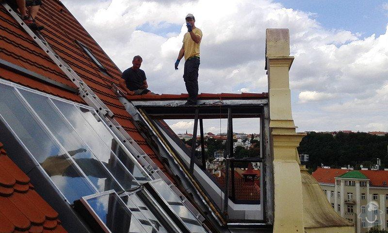 Kompletní rekostrukce střešního ateliérováho okna: IMG_20140624_155653