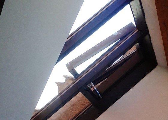 Kompletní rekostrukce střešního ateliérováho okna