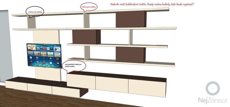 Truhlář -  výroba a instalace obývací stěny: poznamky_1_