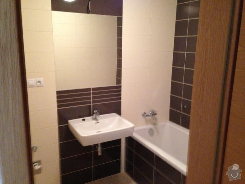 Koupelnový nábytek s vestavěnou pračkou: koupelna
