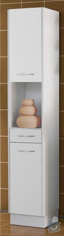 Koupelnový nábytek s vestavěnou pračkou: NANCY_azienka_biaa_lamiant._kopie_217x800_