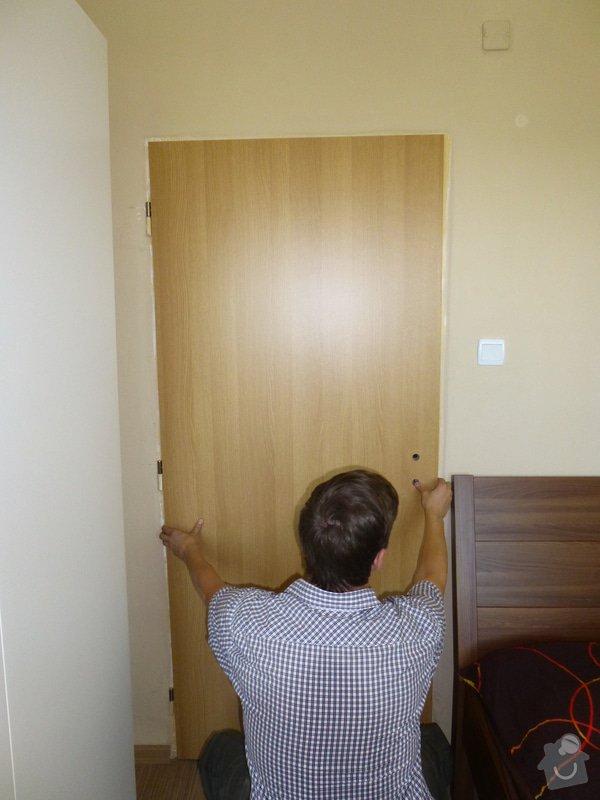Seříznutí interiérových dveří - Ostrava Poruba: P1020270