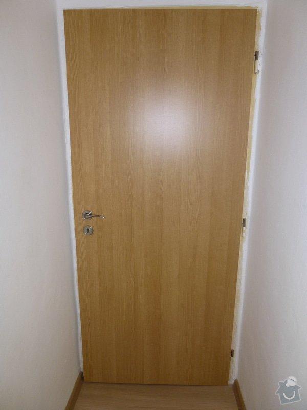 Seříznutí interiérových dveří - Ostrava Poruba: P1020272