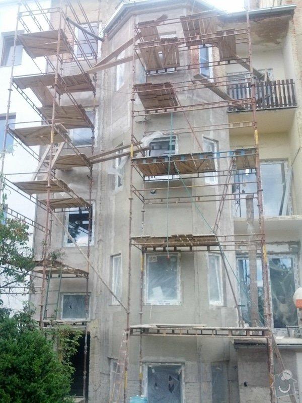 Rekonstrukci fasády (bez zateplení) bytového domu (cca 270m2) a rekonstrukce dvora 43m2: IMG_20140618_173048