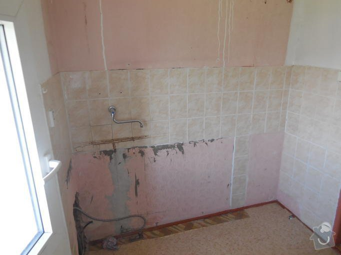 Rekonstrukce koupelny v RD: 003