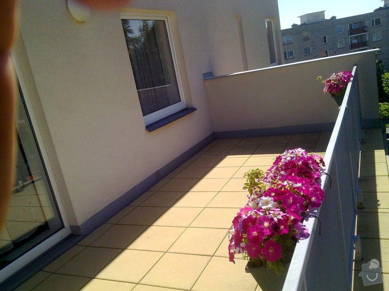Zastřešení terasy na bytovém domě v patře: 100620144340