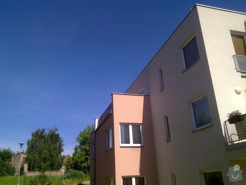 Zastřešení terasy na bytovém domě v patře: 100620144342