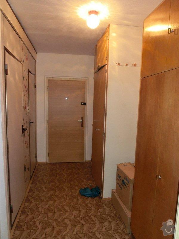 Rekonstrukce bytového jádra bytu 2+kk v panelovém domě: Predsin