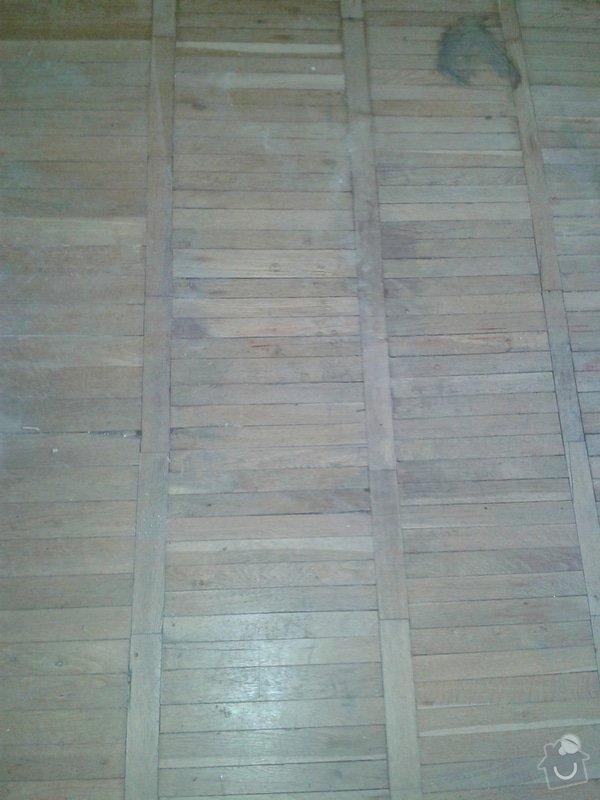 Renovace parket + pokladka dlazby nebo alespon priprava: 20140721_184304b