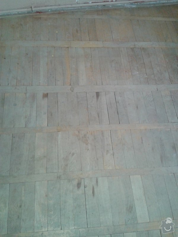 Renovace parket + pokladka dlazby nebo alespon priprava: 20140721_184329b