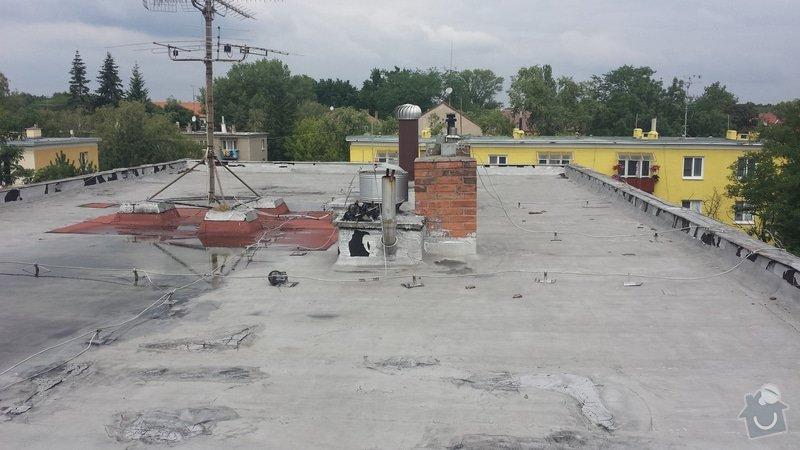 Renovace ploché střechy: 20140711_120001