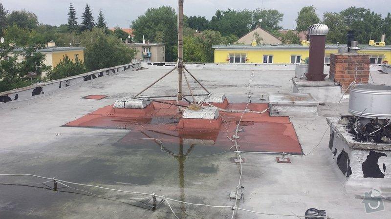 Renovace ploché střechy: 20140711_120011