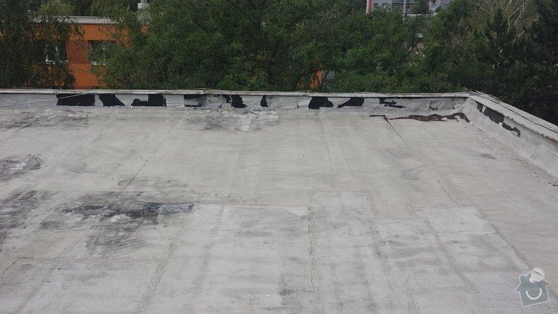 Renovace ploché střechy: 20140711_120035