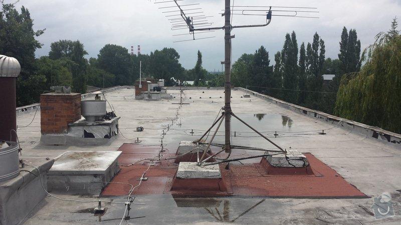 Renovace ploché střechy: 20140711_120043