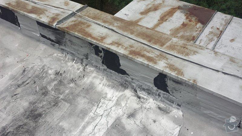 Renovace ploché střechy: 20140711_120051