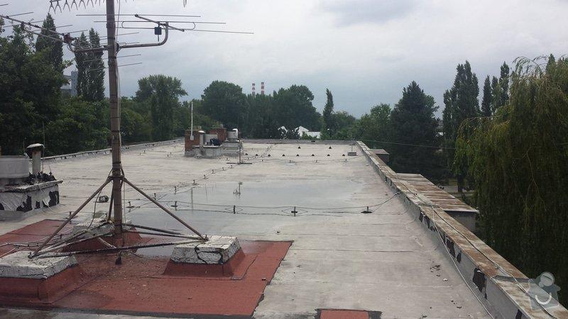 Renovace ploché střechy: 20140711_120056