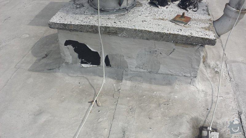 Renovace ploché střechy: 20140711_120207